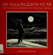 Cover of: An Algonquian year | Michael McCurdy