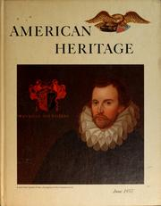 Cover of: American Heritage, Volume VIII, Number 4