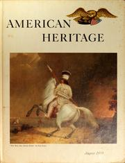 Cover of: American Heritage, Volume X, Number 5