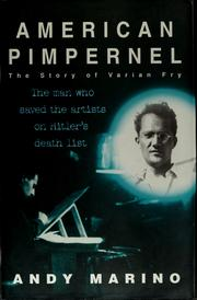 Cover of: American Pimpernel:The Man Who Saved the Artists on Hitler's Death List