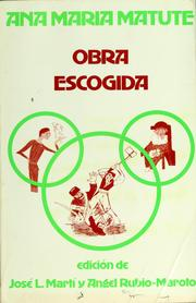 Cover of: Ana María Matute
