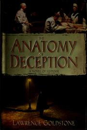 Cover of: The anatomy of deception