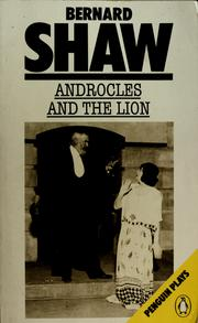 Cover of: Androcles and the lion