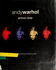 Cover of: Andy Warhol | Jan Greenberg