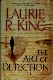 Cover of: The art of detection