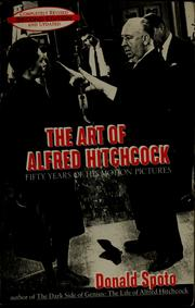 Cover of: The art of Alfred Hitchcock