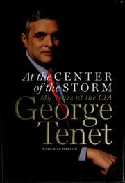 Cover of: At the center of the storm
