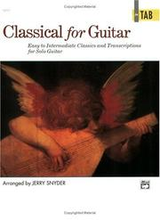 Cover of: Classical for Guitar in TAB