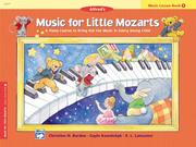 Cover of: Music for Little Mozarts | Christine Barden