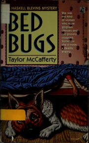 Cover of: Bed bugs | Taylor McCafferty