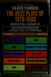 Cover of: The Best plays of 1979-1980 | Otis L. Guernsey