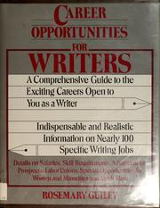 Cover of: Career opportunities for writers