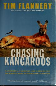 Cover of: Chasing kangaroos
