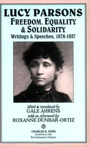 Cover of: Lucy Parsons
