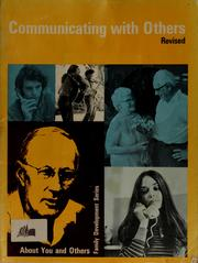 Cover of: Communicating with others | Stephen S. Udvari