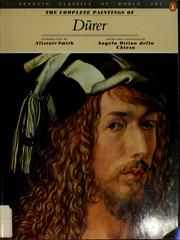 Cover of: The complete paintings of Dürer
