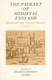 Cover of: The pageant of medieval England