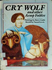 Cover of: Cry wolf and other Aesop fables