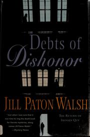 Cover of: Debts of dishonor