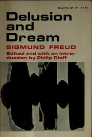 Cover of: Delusion and dream | Sigmund Freud