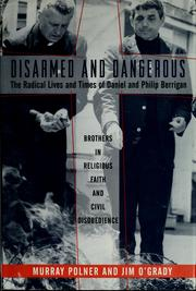 Cover of: Disarmed and dangerous | Murray Polner