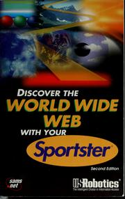 Cover of: Discover the World Wide Web with your Sportster