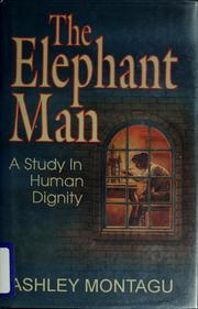 Cover of: The elephant man