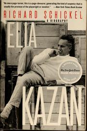 Cover of: Elia Kazan