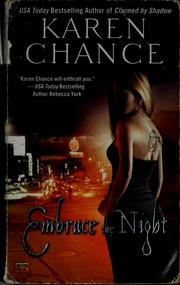 Cover of: Embrace the night | Karen Chance