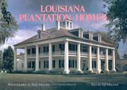 Cover of: Louisiana plantation homes, a return to splendor