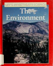 Cover of: The environment | Robin Kerrod