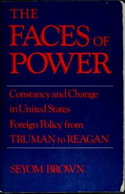 Cover of: The faces of power