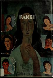 Cover of: Fake: the story of Elmyr de Hory