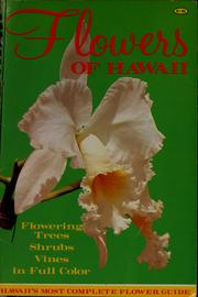 Cover of: Flowers of Hawaii | Amy Hamaishi