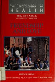 Cover of: Friendship and love