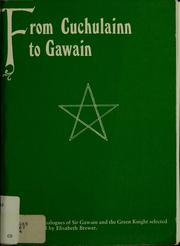 From Cuchulainn to Gawain by Elisabeth Brewer