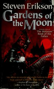 Cover of: Gardens of the moon