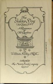 Cover of: The golden dog =