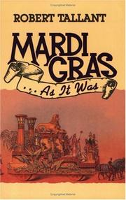 Cover of: Mardi-Gras... As It Was