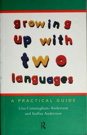 Cover of: Growing up with two languages