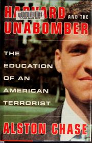 Cover of: Harvard and the Unabomber