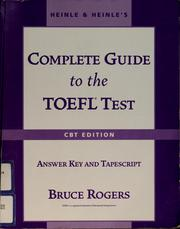 Cover of: Heinle & Heinle's complete guide to the TOEFL test