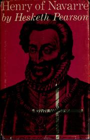 Cover of: Henry of Navarre