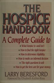 Cover of: The hospice handbook