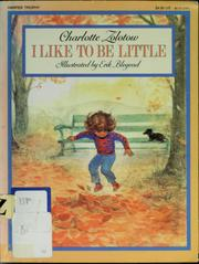 Cover of: I like to be little