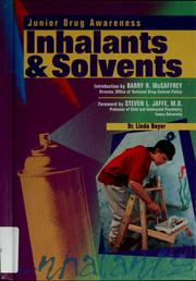 Cover of: Inhalants