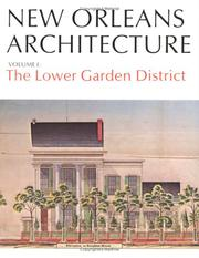 Cover of: New Orleans Architecture Vol I | Samuel Wilson