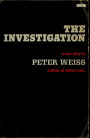 Cover of: The investigation