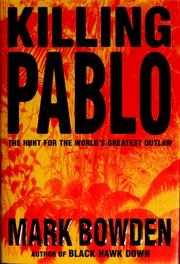 Cover of: Killing Pablo
