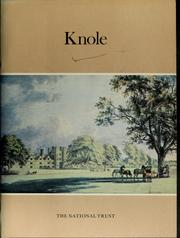 Cover of: Knole, Kent